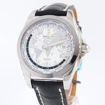 Breitling Galactic Unitime neu 2018 Automatik Uhr mit Original-Box und Original-Papieren WB3510U0/A777