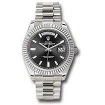 Rolex 228239 BKBDP Or blanc Day-Date 40 40mm nouveau