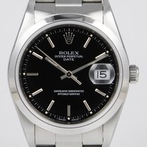 Rolex Oyster Perpetual Date With Black Dial (1995)
