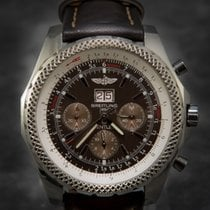 Breitling Bentley 6.75 A44362 Top Model 49mm Chocolate Dial...