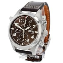 IWC Pilot Double Chronograph pre-owned 44mm Steel