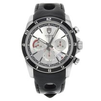 Tudor Grantour Chrono Steel 42mm Black No numerals United States of America, New York, NYC