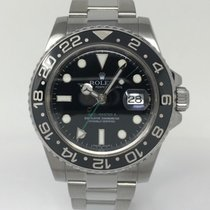 Rolex GMT-Master II Steel Black Dial 116710LN with Rolex Card