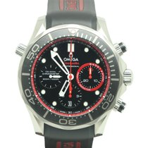 Omega Chronograph 44mm Automatic 2013 pre-owned Seamaster Diver 300 M Black