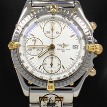 Breitling Chronomat Chronograph 40mm B13050 18k Yellow Gold/...