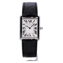 Cartier Tank Solo Large with NEW CARTIER SERVICE