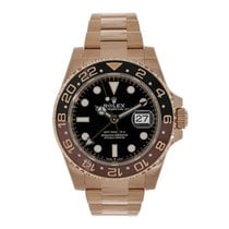Rolex GMT-Master II pre-owned 40mm Rose gold