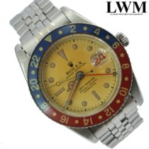 Rolex GMT-Master pre-owned 38mm Black GMT Steel