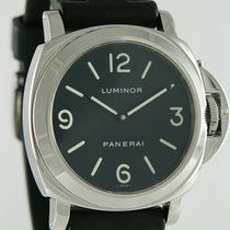 Panerai Luminor Base tweedehands 44mm Zwart Rubber