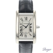 Cartier Tank Americaine White Gold
