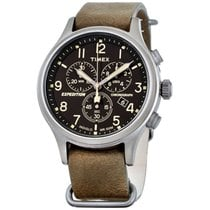 Timex Chronograph 42mm Quartz new Black