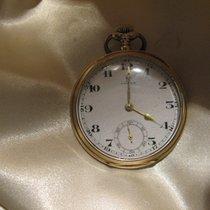 Omega Horloge tweedehands 1925 Geelgoud 47mm Arabisch Handopwind Horloge met originele doos en originele papieren