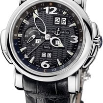 Ulysse Nardin GMT +/- Perpetual White gold 42mm Black Arabic numerals United States of America, New Jersey, Princeton