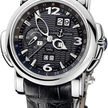 Ulysse Nardin White gold Automatic Black Arabic numerals 42mm new GMT +/- Perpetual