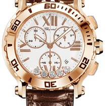 Chopard Happy Sport 283581-5001 Velmi dobré Růžové zlato 42mm Quartz