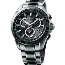 Seiko Astron GPS Solar Chronograph new Watch with original box and original papers SSE041J1