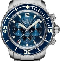 Blancpain Fifty Fathoms Steel 45mm Blue United States of America, Florida, Sunny Isles Beach