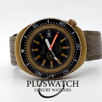 Squale Bronze Automatic Black No numerals 43mm pre-owned