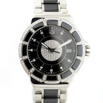 TAG Heuer Formula 1 Lady pre-owned 35mm Black Date Ceramic