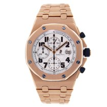 Audemars Piguet Royal Oak Offshore Chronograph Oro rosado 42mm Plata Árabes