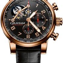Graham Silverstone 2TSAR.B04A Новые Pозовое золото 54.3mm Автоподзавод