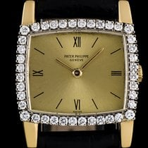 Patek Philippe 18k Yellow Gold Diamond Set Vintage Ladies...