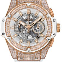 Hublot King Power Unico King Gold White Diamond Pavé