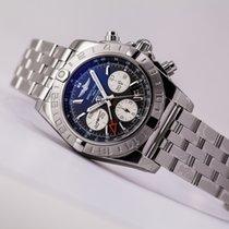 Breitling Chronomat 44 GMT Acier 44mm Gris Arabes
