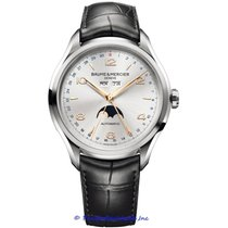 Baume & Mercier Clifton new Automatic Watch with original box and original papers MOA10055