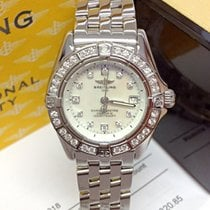 Breitling Callistino Steel 29mm Mother of pearl No numerals