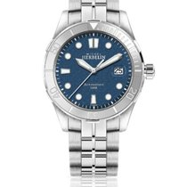 Michel Herbelin Newport Trophy Steel 42mm Blue No numerals
