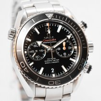 Omega Seamaster Planet Ocean Chronograph Steel 45,5mm Black