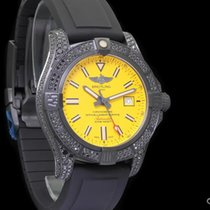 Breitling Titan Automatik Gelb 44mm neu Avenger Blackbird 44