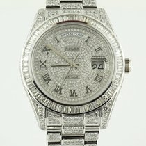 Rolex Day-Date II President II  41 White Gold aftermarket...