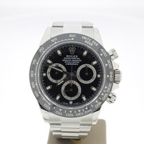 Rolex Daytona 40mm BlackDial Steel (B&P2018) CERAMIC