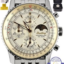 Breitling Montbrillant Olympus pre-owned 41.5mm Steel