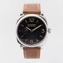 Panerai Radiomir 1940 Steel 42mm Brown Arabic numerals United Kingdom, Guildford,Surrey