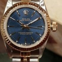 Rolex Oyster Perpetual 26 Or/Acier 26mm Bleu Sans chiffres France, CANNES