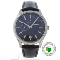 Zenith Captain Power Reserve Acero 41mm Negro