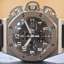 Audemars Piguet Royal Oak Offshore Chronograph Τιτάνιο 48mm Μαύρο Αραβικοί
