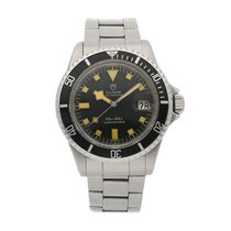 Tudor 39mm Automatic pre-owned Submariner Black