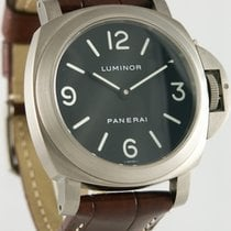 Panerai Luminor Base gebraucht 44mm Krokodilleder