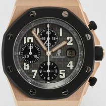 Audemars Piguet Red gold Automatic 42mm pre-owned Royal Oak Offshore Chronograph