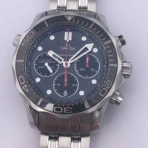 Omega Seamaster Diver 300 M pre-owned 44mm Chronograph