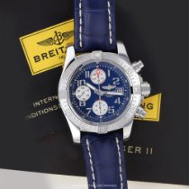 Breitling Avenger II Steel 43mm Blue United States of America, New York, Airmont
