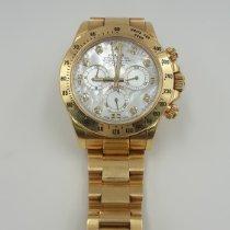Rolex Daytona Yellow gold 40mm Mother of pearl No numerals Malaysia, Subang Jaya