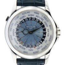 Patek Philippe World Time neu 2008 Automatik Uhr mit Original-Box und Original-Papieren 5130P-001