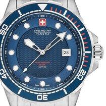 Swiss Military Stahl 44mm Quarz 06-5315.04.003 neu