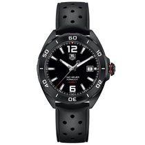 TAG Heuer Formula 1 Calibre 5 Steel 41mm Black Arabic numerals