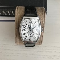 Franck Muller Steel Automatic Silver Arabic numerals pre-owned Master Banker